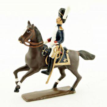 officier des grenadiers de la garde à cheval (1809)