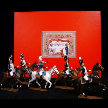 coffret de 5 cavaliers - Grenadiers de la garde à cheval (1809)