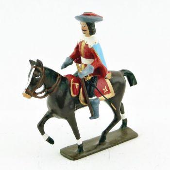 cavalier des mousquetaire louis xiii à cheval (1610)
