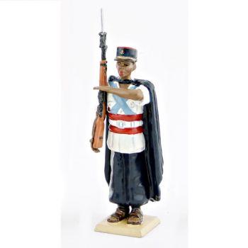 Fantassin de la Garde au fanion des Somalis