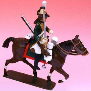 Conde Dragons (1776) - figurine à cheval