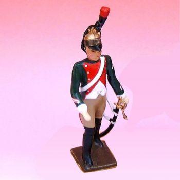 2e Rgt De Dragons (1796) - figurine à pied