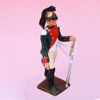 2e Rgt De Dragons (1807) - figurine à pied