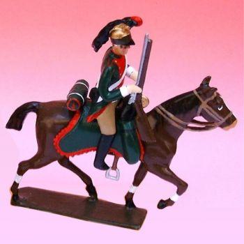 2e Rgt De Dragons (1796) - figurine à cheval