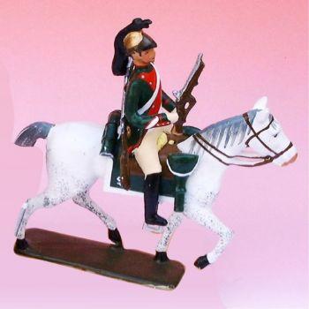 2e Rgt De Dragons (1807) - figurine à cheval