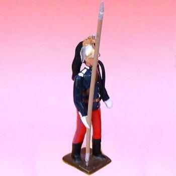 2e Rgt De Dragons (1874-1914) - figurine à pied