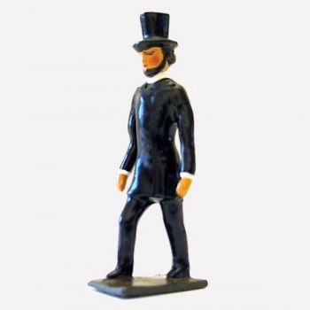 Président Lincoln (1809-1865), président des Etats Unis