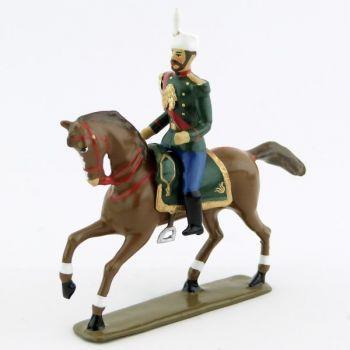 Tsar Nicolas II à cheval