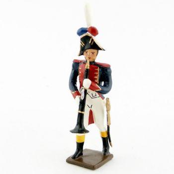 clarinettiste de la musique des grenadiers (plastron rouge) (1805)