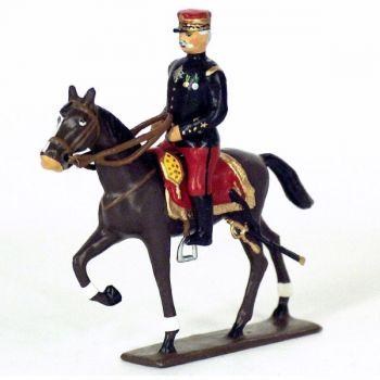 Général de Castelnau à cheval