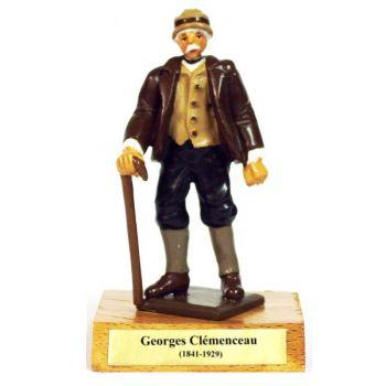 Georges Clémenceau sur socle bois