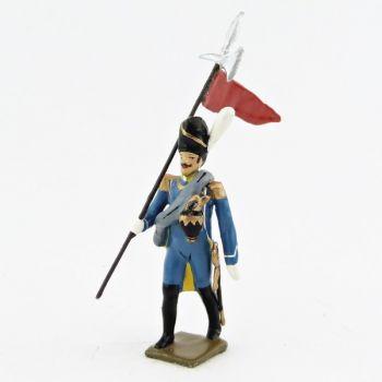 2e porte-aigle du 1er régiment d'isenburg (1806)