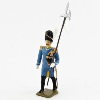 3e porte-aigle du 1er régiment d'isenburg (1806)