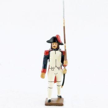 fantassin (au défilé) de l'infanterie campagne d'Egypte (1799)