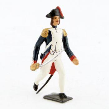 officier de l'infanterie campagne d'Egypte (1799) à l'assaut