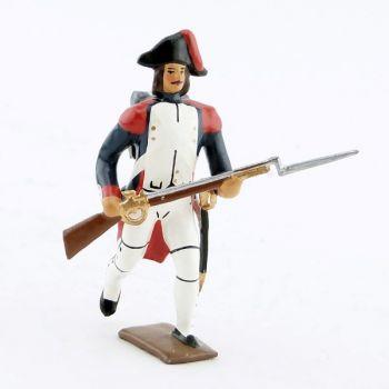 fantassin à l'assaut de l'infanterie campagne d'Egypte (1799)