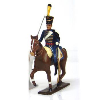 cavalier du 5e régiment de hussards (1808)