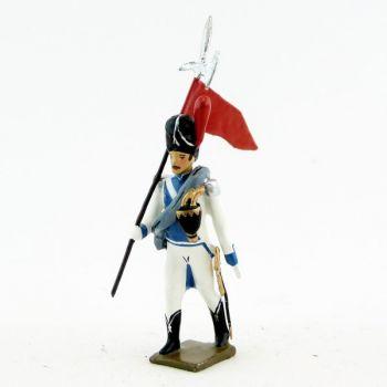 2e porte-aigle des grenadiers de Clèves et de Berg (1812)