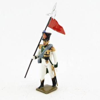 2e porte-aigle du 5e bataillon des pupilles de la garde (1812)