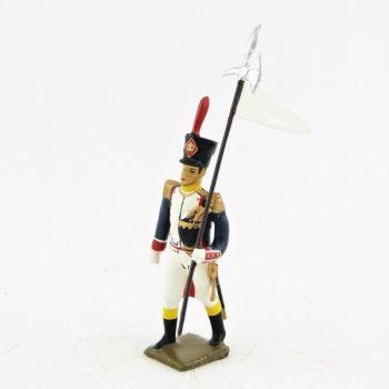 3e porte-aigle des voltigeurs du 17ème régiment de ligne (1809)