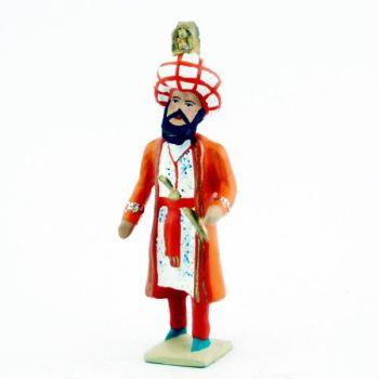 Sultan (tirant un cheval)