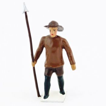 Explorateur avec harpon