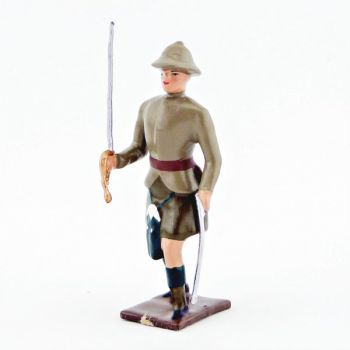 officier de l'infanterie écossaise