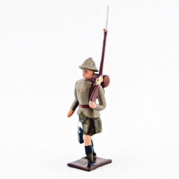 fantassin de l'infanterie écossaise