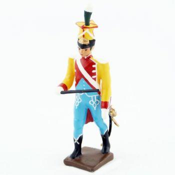 chef de la musique des chasseurs du 17e rgt d'infanterie (1809)