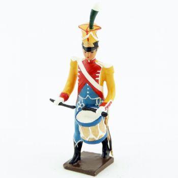 caisse roulante (tambour) de la musique des chasseurs du 17e rgt d'infanterie (1