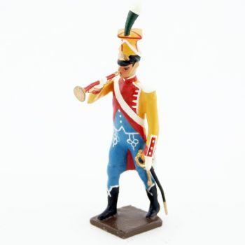 trompette de la musique des chasseurs du 17e rgt d'infanterie (1809)