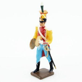 cymbalier de la musique des chasseurs du 17e rgt d'infanterie (1809)
