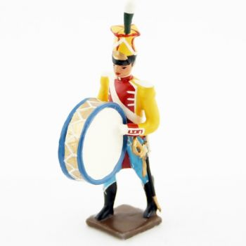 grosse caisse de la musique des chasseurs du 17e rgt d'infanterie (1809)