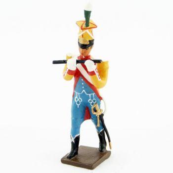 flûte de la musique des chasseurs du 17e rgt d'infanterie (1809)