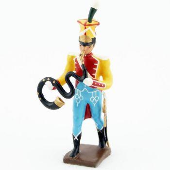 serpent de la musique des chasseurs du 17e rgt d'infanterie (1809)