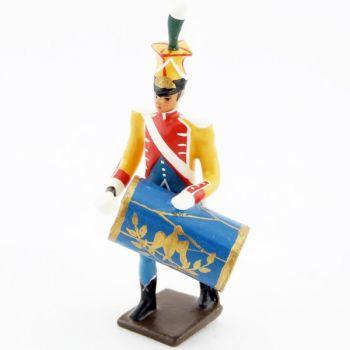 caisse claire de la musique des chasseurs du 17e rgt d'infanterie (1809)