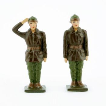 équipage de l'automitrailleuse (2 pers.) (kaki)