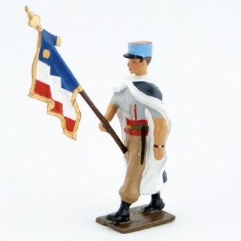 porte-drapeau du 1er régiment de spahis (manches courtes)