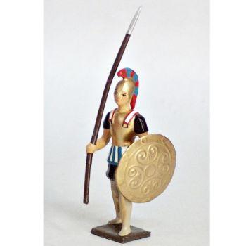 grec avec lance et bouclier