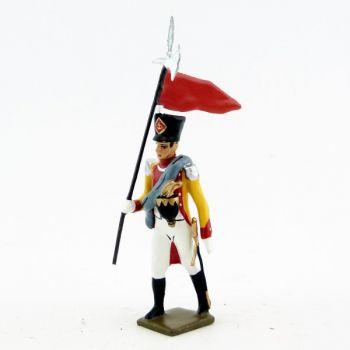 2ème Porte Aigle du bataillon du Prince de Neuchâtel