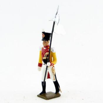 3ème Porte Aigle du bataillon du Prince de Neuchâtel