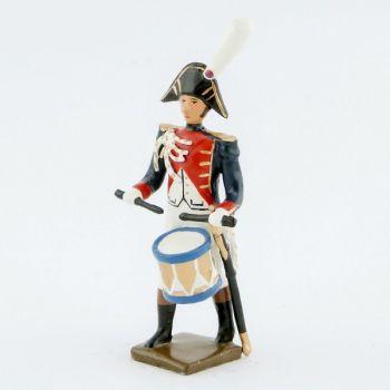 caisse roulante (tambour) de la musique de la gde d'honneur de strasbourg (1805)