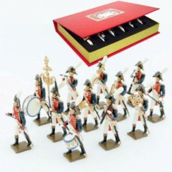 Musique de la gde d'honneur de strasbourg, coffret de 12 figurines