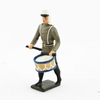 tambour de la légion étrangère en tunique