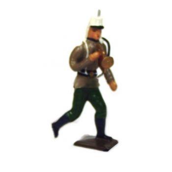 clairon de la Légion étrangère à l'assaut