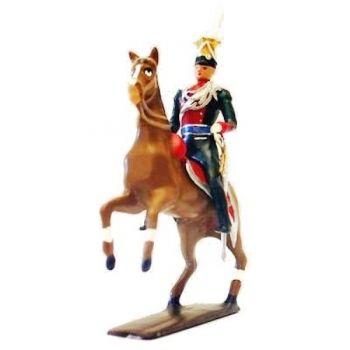 officier des uhlans de bavière à cheval (1808)