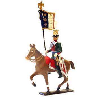 etendard des uhlans de bavière à cheval (1808)