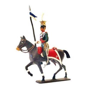 cavalier des uhlans de bavière à cheval (1808)