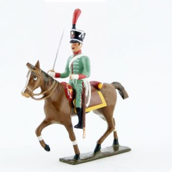 cavalier des hussards espagnols (1808)