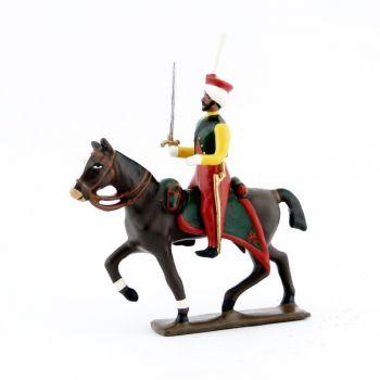 cavalier des mameluks à cheval (1810)